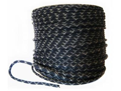 Коломна веревка статическая D-10 мм 48-прядная черная