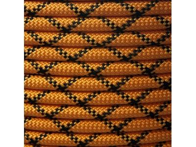 Коломна веревка статическая D-10 мм 48 прядная оранжевая