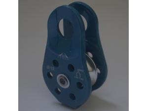 Блок -ролик с фиксированными щечками на шарикоподшипнике