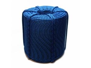 Коломна веревка статическая D-10 мм 48 прядная синяя